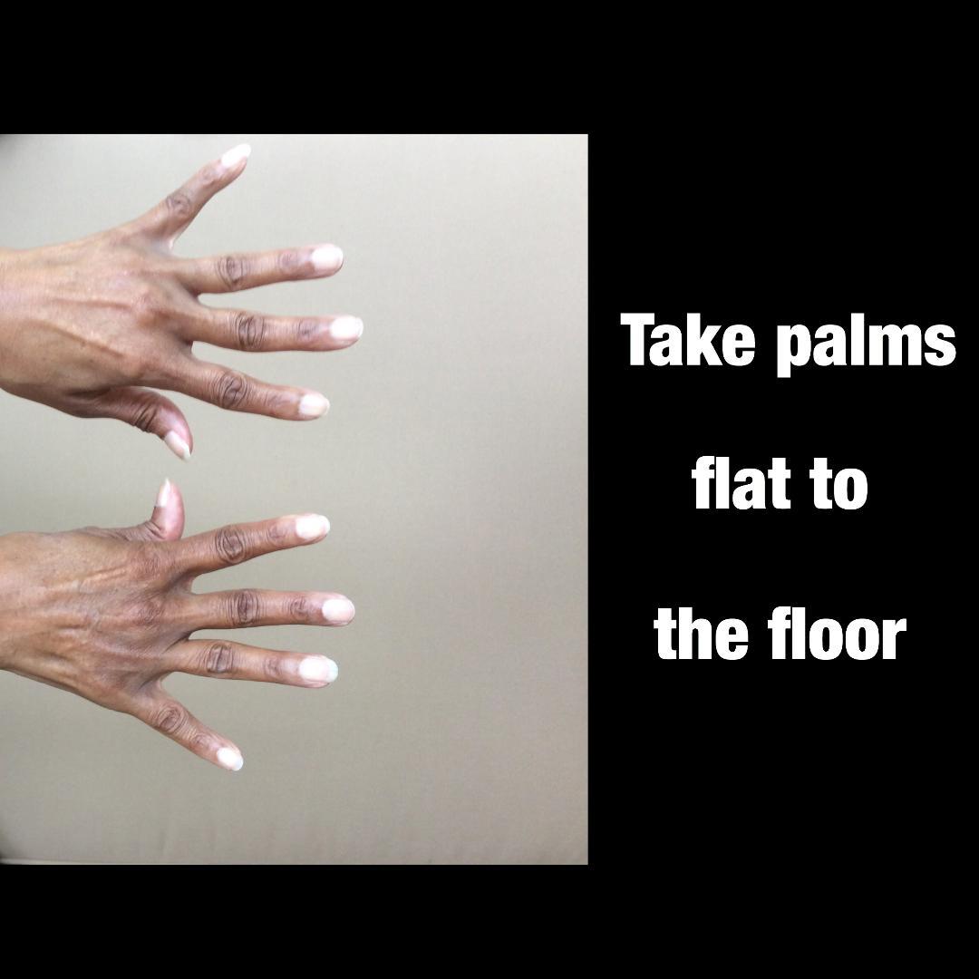 palms flat